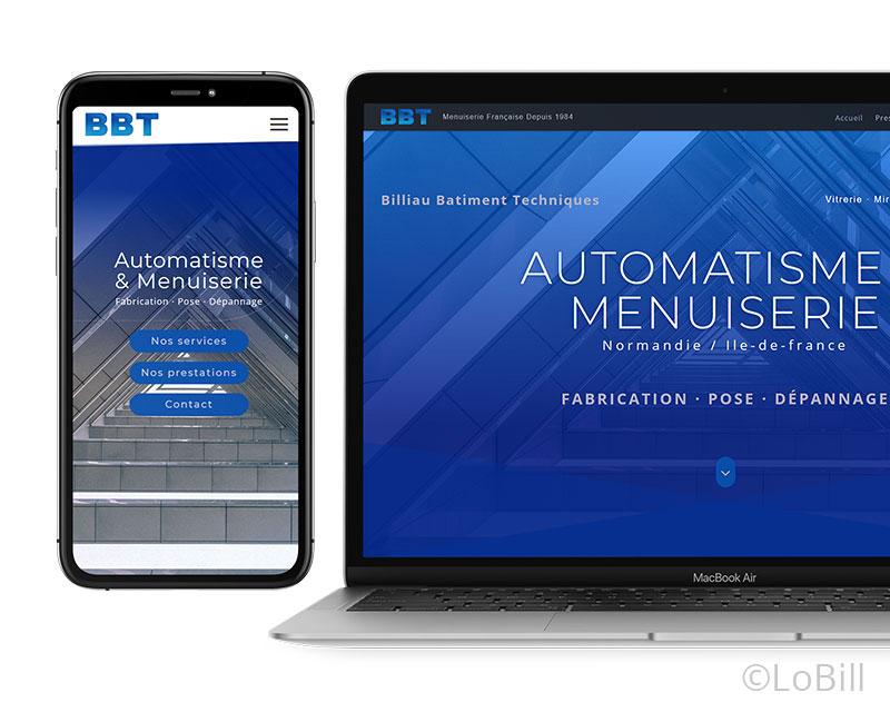 bbt site web responsive