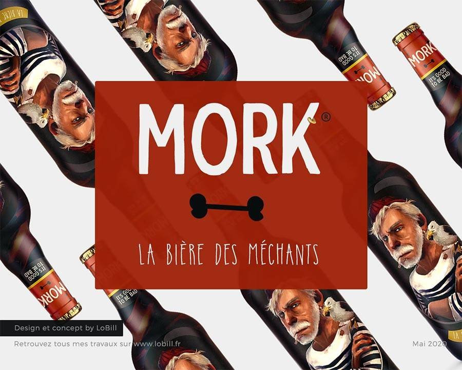 Mork - Packaging - LoBill Design : Site web et Communication digitale imprimée