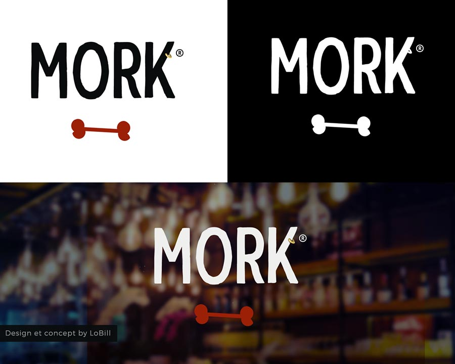 Mork - LoBill Design : Site web et Communication digitale imprimée