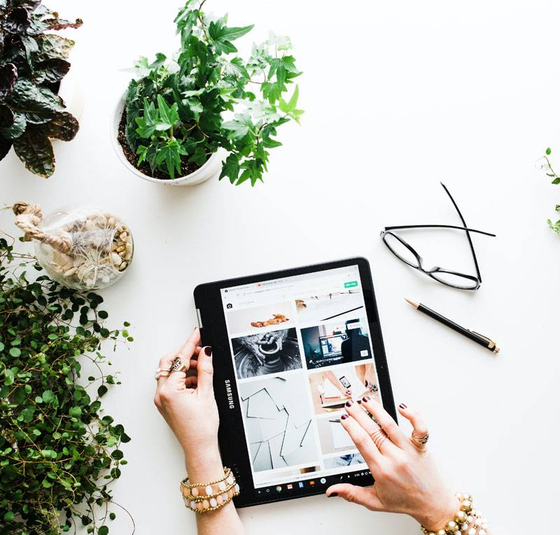 mobile and plants